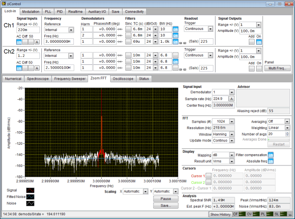 zoom fft In order to fine tune, i then use the upper-right sdr# slider to zoom fft as soon as i zoom in, frequency changes to something around 240 khz, and, while zoomed in, doesn't allow me to retune out of the fft spectrum shown.